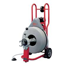 115 volt k 750 autofeed drain cleaner machine with 3 4 in