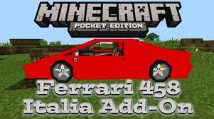 Visualizza altre idee su minecraft. Ferrari 458 Italia Add On Minecraft Pe