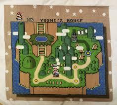 Super Mario World Map Stitch Sprite Stitch
