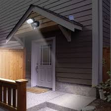Solar Powered Outdoor Security Light Motion Detection