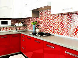 Small Kitchen Colour Kitchen Stupendous Small Kitchen Color Idea With Mosaic