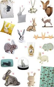 Rabbit Decorative Accessories Get the Look 100 Bunny Rabbit Accessories and Decor StyleCarrot 1