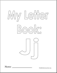 < wikijunior:classic alphabet coloring book. Coloring Pages My Letter J Coloring Book Abcteach
