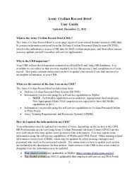 Us Army Resume Army Resume Example Sample Military Resumes
