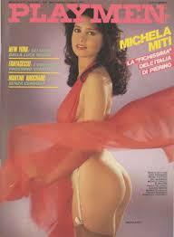 Le protagoniste del cinema sexy anni 80 Michela Miti.