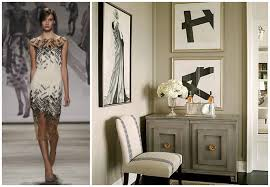 Small Picture New York Fashion Week Translated Into Timeless Interiors