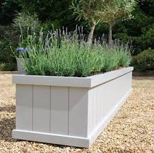Wooden Garden Troughs And Planters Planters Glamorous Large Trough Planters  For Garden Plastic