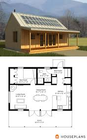 Small 3 Bedroom Cabin Plans Cabin Style House Plan 1 Beds 1 Baths 704 Sq Ft Plan 497 14