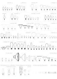 Bulb Chart Regular Light Bulb Size Knockit Co