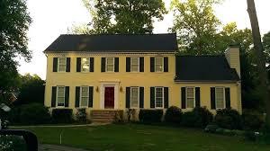 black shutters red door black shutters on brick house new ideas yellow brick house red door with yellow and black shutters red brick house with door black