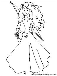 Disegni Principessa Merida Da Stampare Disegni Da Colorare Gratis