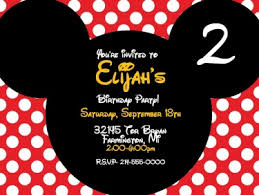 mickey mouse party invitation mickey mouse personalized digital party invitation meylah