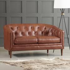 beautiful bedford leather loveseat leather loveseat