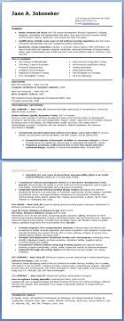 Resume Template Formats Free Sample Librarian One Page With 81