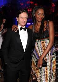 Nigerian super model Oluchi Onweagba Orlandi with husband Luca. |  Supermodels, Black woman white man, White man