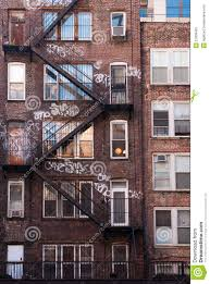 Small Brick Apartment Building - New york apartments outside