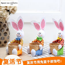 easter gift box diy craft supplies rabbit home decor for easter table decoration party diy decorations