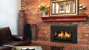 masonry fireplace gas insert firebox dimensions typical