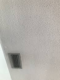 painting possible asbestos popcorn ceiling