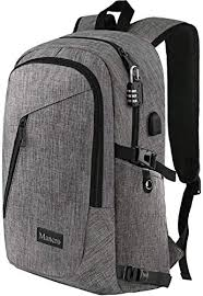 Mancro <b>Laptop Backpack</b> Review: <b>Charge</b> On The Go | Expert World ...