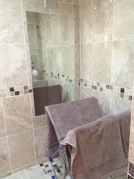 Bevelled Bathroom Mirror Hib Willow Landscape Bevelled Edge Mirror 1200 X 600mm 77305000