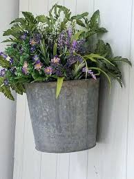 galvanized wall bucket sap bucket galvanized bucket planter wall pocket farmhouse galvanized metal shutter wall decor