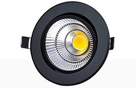 LXRH <b>7W Modern</b> Simple Black <b>LED Spotlight</b> Ceiling Aluminum ...