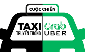 Image result for hinh anh taxi uber