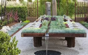 garden dining tables. Perfect Dining RALLIrrigated Garden Dining Table  Inside Garden Dining Tables P