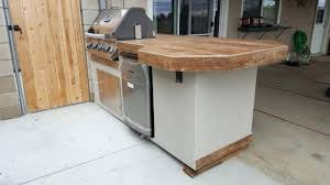 how to build a bbq island with wood outdoor kitchens diy wooden bbq island how to