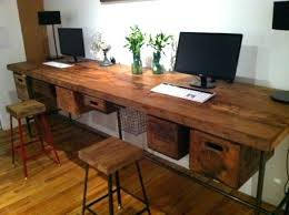 reclaimed office desk. 2 x 5 ft industrial reclaimed wood work table connected free shipping wooden office desk plans woodworking metal top
