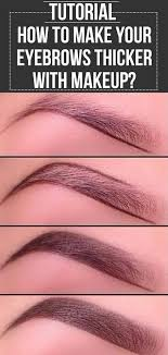 1 how to fill in thin brows
