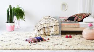 dazzling moroccan rug for your interior floor decor ivory moroccan rug for comfort