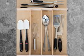 Custom Wood Kitchen Utensil Drawer Organizer - Squared Away, Organization  Solutions Houston TX