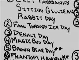 Chris Mccandless Diary Chris Mccandless Had A Journal His Journal Went Up To 112 Days He