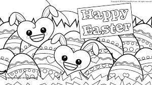 Printable Easter Bunny Coloring Pages Trustbanksurinamecom