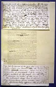 William henry harrison's inaugural address, by contrast, was nearly 8,500 words! Lincoln S First Inaugural Address Top Treasure American Treasures Of The Library Of Congress