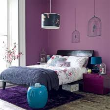 Purple Inspired Bedrooms Decorating The Bedroom With Green Blue And Purple