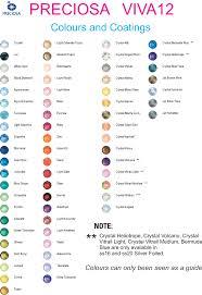Czech Colour Chart Lola Cherry Cola