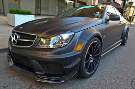 2012 Mercedes-Benz C63 Black Series with Track Pack - Rare Cars ...