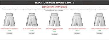 Shorts Design Template Create Custom Made Boxing Shorts With Suzi Wong Boxing Life