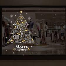 Tolle Kreative Weihnachten Wand Aufkleber Shop Fenster Dekoration