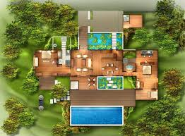 From Bali With Love Tropical House Plans From Bali With Love My Custom Bali 2 Bedroom Villas Concept