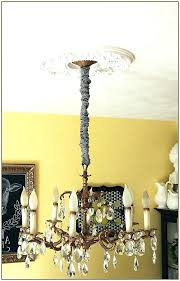 fabric chain cover chandelier chain cover how to make a fabric chandelier chain cover burlap lamp