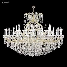 james r moder 91760s2x maria theresa grand 49 light crystal chandelier in silver with imperial clear traditional trim