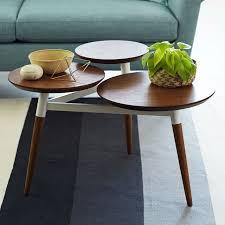 tri coffee table