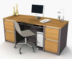 designer office computer desk and chair
