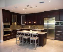 kitchen ideas dark cabinets modern. Contemporary Kitchen Design | Modern With An Earthy Color Palette And Stainless Steel . Ideas Dark Cabinets K