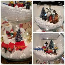 Decorative Fish Bowls Fish Bowl Snowman Craft Crafty Morning 60