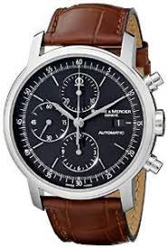 top 5 best entry level luxury watches under 1500 for you in 2016 baume mercier men s moa08589 classima executive swiss automatic watch brown leather band